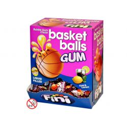 Fini Basketballs Gum 200 X 5 G