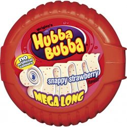 Hubba Bubba Tape Strawberry...