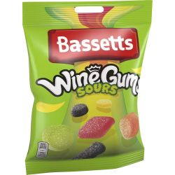 Bassetts Winegums Sour 12 X...
