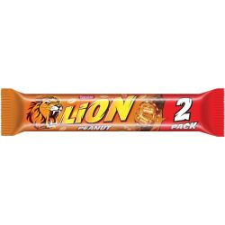 Lion Peanut 2-pack 28 X 60 G