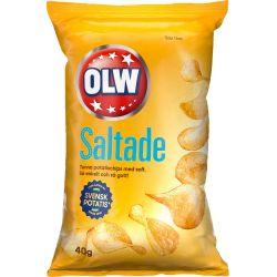 OLW Lättsaltade Chips 20 X...