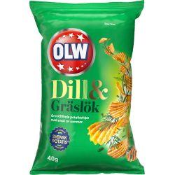 OLW Dill & Gräslök 20 X 40 G