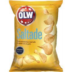 OLW Saltade Chips 18 X 175 G