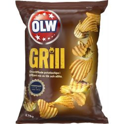 OLW Grill Chips 21 X 175 G