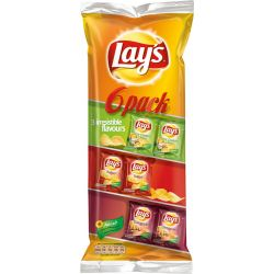 Lays 6-Pack 14 X 165 G