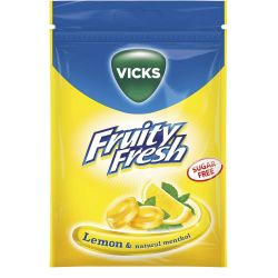 Vicks Fruity Fresh Lemon SF...