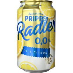 ÖL Pripps Radler Lemon 0,0%...