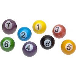Zed Candy Pool Balls 26MM 2 KG