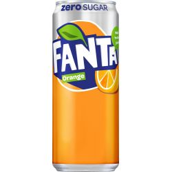 Fanta Zero Orange 20 X 33 CL