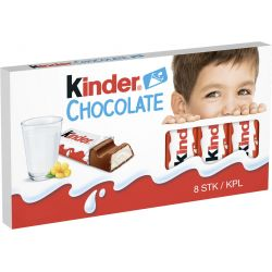 Kinder Chocolate 10 X 100 G