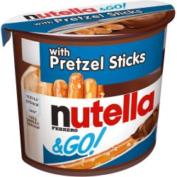 Nutella & GO Pretzel Sticks...
